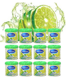 12 Can 1 Box Jdm My Shaldan Lime Scent Air Freshener d41li 80gr 2 82oz can