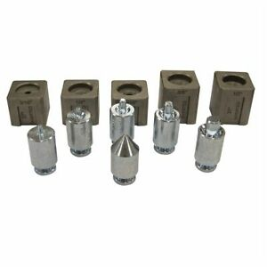 37 Degree Double Flaring Tool Adapter Die Set For Use With Mastercool 71475 Kit