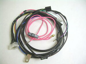 1962 Impala Belair Biscayne Engine Wiring Harness 409 Hei Electronic Ignition