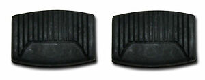 Oem New Ford Motor Company Clutch Brake Pedal Pad Pair Rubber Cover 2 Both