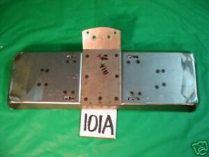 Jaguar Xk120 Xk 120 Rear Licence Tag Panel license Plate Bracket x101a
