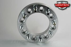 4 Wheel Spacers 8 Lug Ford 8x170 With 14x1 5 Studs 2 Thick F250 2004 2017