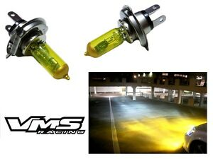 Yellow X2 H13 9008 High Performance Xenon Headlight Bulbs