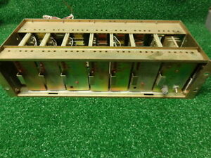 Ge Mastr Pro Master Ii Uhf Vhf Repeater Control Shelf W power Supply