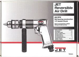 Jet 1 2 Reversible Air Drill Jsm 704 90psi 800 Rpm new