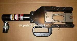 Huskie Sp 100 Hydraulic Operated Remote Cutting Head Cable Cutter Stripper Tool