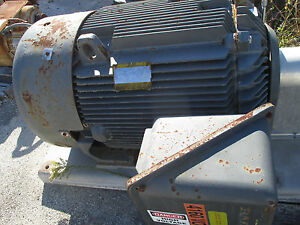 Baldor Electric Motor 350hp 3580rpm 5007sy Low Hrs Tefc 2300 4160 Rpm