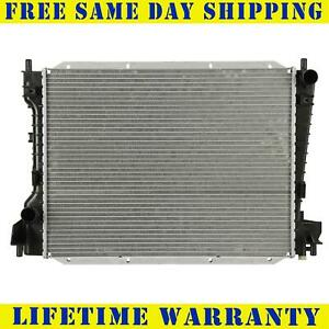Radiator For 2000 2009 Lincoln Ls Jaguar S Type No Transmission Oil Cooler