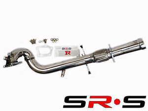 Srs Mazdaspeed 3 07 08 09 2 3l 4cyl 3 Stainless Steel Turbo Downpipe Sr S Cat D