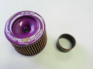 Zex Ejector Air Amplifier Universal Nitrous Nos Nozzle Filter With Coupler 2 75