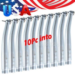 10 Pc Dental Nsk Style Pana Max Standard Push Button High Speed Handpiece 2 Hole