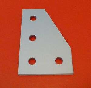 Tnutz Anodized Aluminum 4 Hole 90 Joining Plate 10 Series P n Jp 010 g New