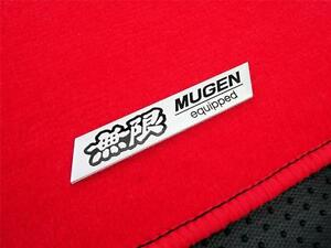 Red 88 91 Honda Civic Crx 5pc Semi Custom Fitment Floor Mat Carpet Jdm Set Mu