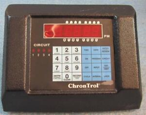 7 Chrontrol Xt 4s table Top Programmable Timer