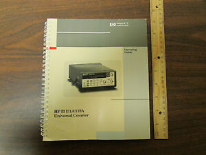 Hp 53131a 53132a Universal Counter Operating Guide