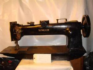 Singer Double Needle Long Arm Walking Foot Heavy Duty Sewing Machine Tag3108