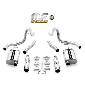 Magnaflow 1999 2004 Ford Mustang Gt Mach 1 4 6l V8 2 5 2 1 2 Exhaust System