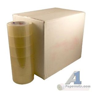 Lot Of 2 Cases 36 Rolls 2 X 330 1 9 Mil Clear Packing Tape
