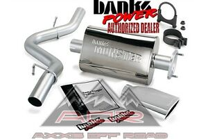 Banks Monster Exhaust System 51313 Fits 2000 03 Jeep Wrangler Tj Jeep Exhaust