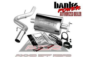 Banks Monster Exhaust System Fits 1997 99 Jeep Wrangler Tj 51312 Jeep Exhaust