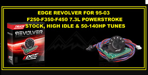 Edge Revolver Chip Switch For 95 03 Ford Powerstroke Diesels 7 3 50 140 Hp