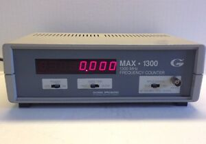 Global Specialties Max 1300 Frequency Counter