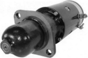 New 6 Volt 9 Tooth Starter Fits Massey Ferguson Tractor To 20 To 30