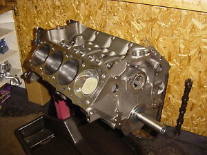 Ford 460 557cid Bbf Intimidation Series Short Block Barnett High Performance