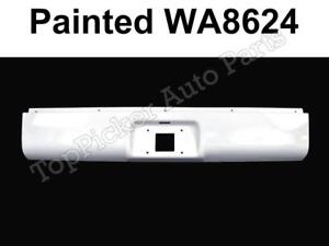 New Painted Summit White Wa8624 Roll Pan For 99 07 Silverado Sierra Fleetside