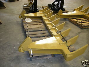 Dozer Blade Root Rake 112 Wide 1065 Lbs Ar400 Steel New Usa Attachments