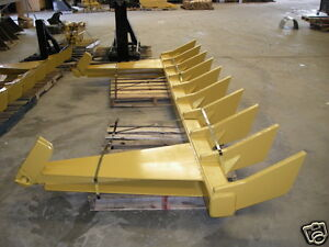 Dozer Blade Root Rake 126 Wide 1575 Lbs Ar400 Steel New Usa Attachments