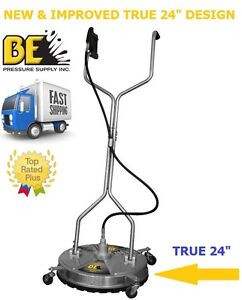 Be Pressure 24 In Whirl a way Stainless Steel Pressure Washer Surface Cleaner