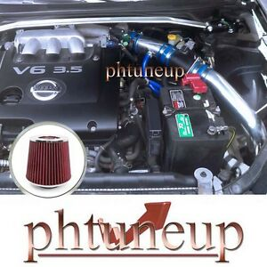 Fit 2002 2006 Nissan Altima 3 5 3 5l Se Se R Sl V6 Cold Air Intake Kit Systems