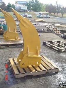 Frost Ripper For 50000 60000 Lb Excavator New Usa Attachments