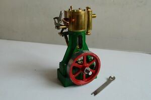single cylinder model engine fully