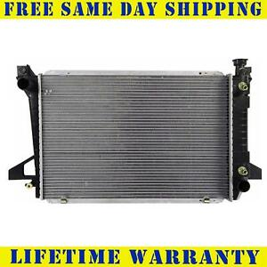 Radiator For 1985 1995 Ford F150 Bronco 4 9l Lifetime Warranty Free Shipping