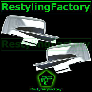 09 12 Dodge Ram With Turn Light Chrome Plated Full Abs Mirror Cover A Pair 2012