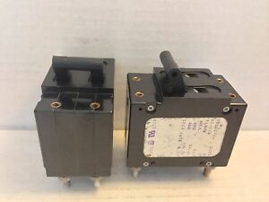 2 New Airpax Circuit Breakers Upl11 1 61 502 Upl11161502 2 Pole 5 Amp