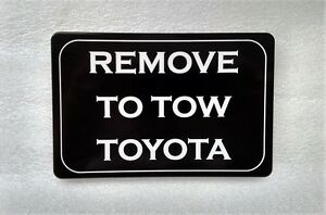 Remove To Tow Toyota Aluminum Billet Hitch Plug Cover