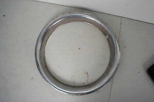 15 Chevy C10 Beauty Ring Trim Ring Wheel Rim Oem Original