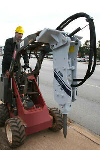 Mini Skid Steer Breaker Attachment Model Kx15
