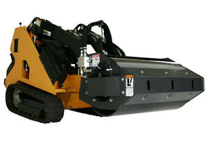 Mini Skid Steer Vibratory Roller 36 Wide Smooth Drum Requires 6 9 Gpm Flow