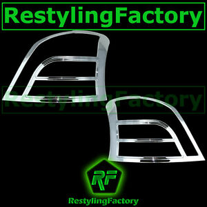 07 11 Toyota Yaris 5dr Mdoel Only Triple Chrome Taillight Tail Light Lamp Cover