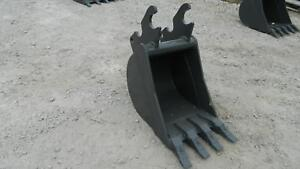 Kubota Kx71 Excavator Bucket 16 Quick Attach Guaranteed Fit Made In Usa New