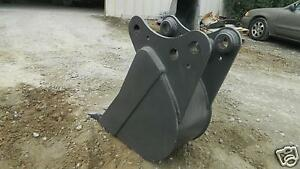 12 Pin On Bucket Built To Fit Kubota Kx 161 2 3 Excavator Guaranteed Fit