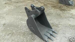 18 Pin On Bucket Built To Fit Kubota Kx 161 2 3 Excavator Guaranteed Fit
