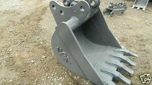 24 Pin On Bucket Built To Fit Kubota Kx 161 2 3 Excavator Guaranteed Fit