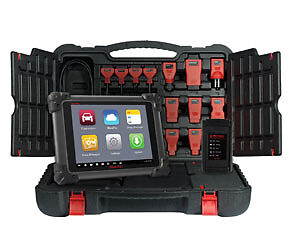 New Autel Wireless Maxisys Diagnostic Scan Tool Kit W Bluetooth Vci Ms908