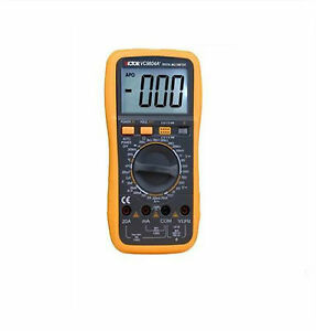 Victor 9804a Lcd Display Ohmmeter Ac Dc Testing 3 1 2 Multimeter