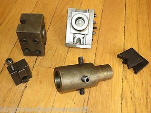 Deal For Parts Hardinge Model C Slide Type Tool Holder Other Assorted Parts